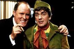 John Lithgow and Dudley Moore