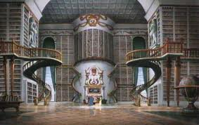 Library from Beauty and the Beast