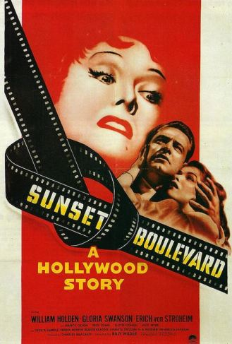sunset blvd poster
