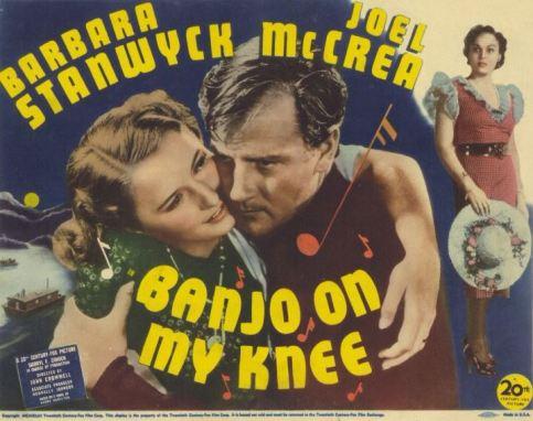 banjo on my knee poster