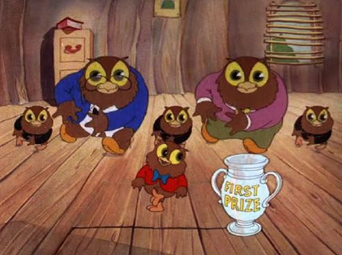 "The Owl family gets down in ""I Love to Singa"" (1936). Photo credit: http://texaveryatwb.blogspot.com/"