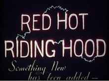 red hot riding hood title card