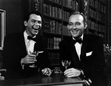 Who better to offer a toast to a grand new year than these two?