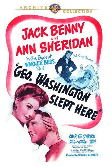 george washington slept here warner archive