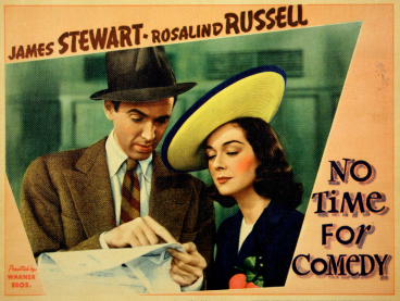 Image result for No Time for Comedy 1940 poster